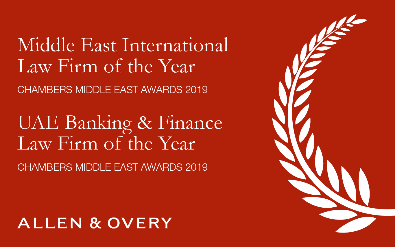 Middle East International Law Firm of the Year