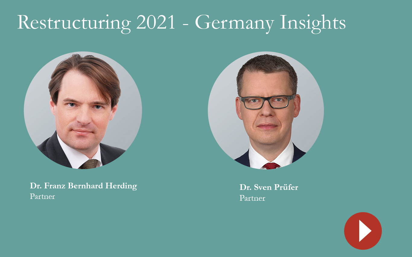 Restructuring 2021 Germany