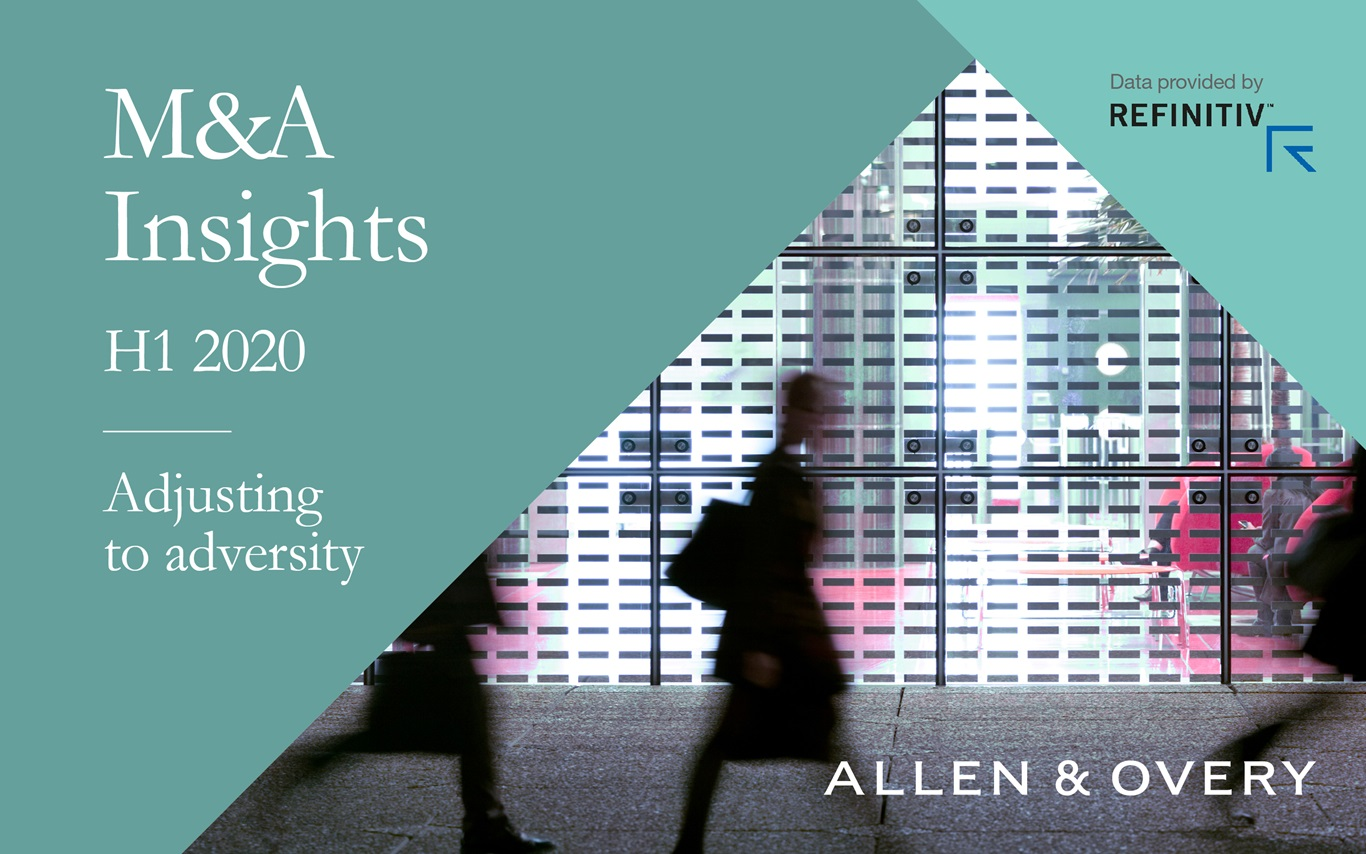 M&A Insights H1 2020 Adjusting to adversity text