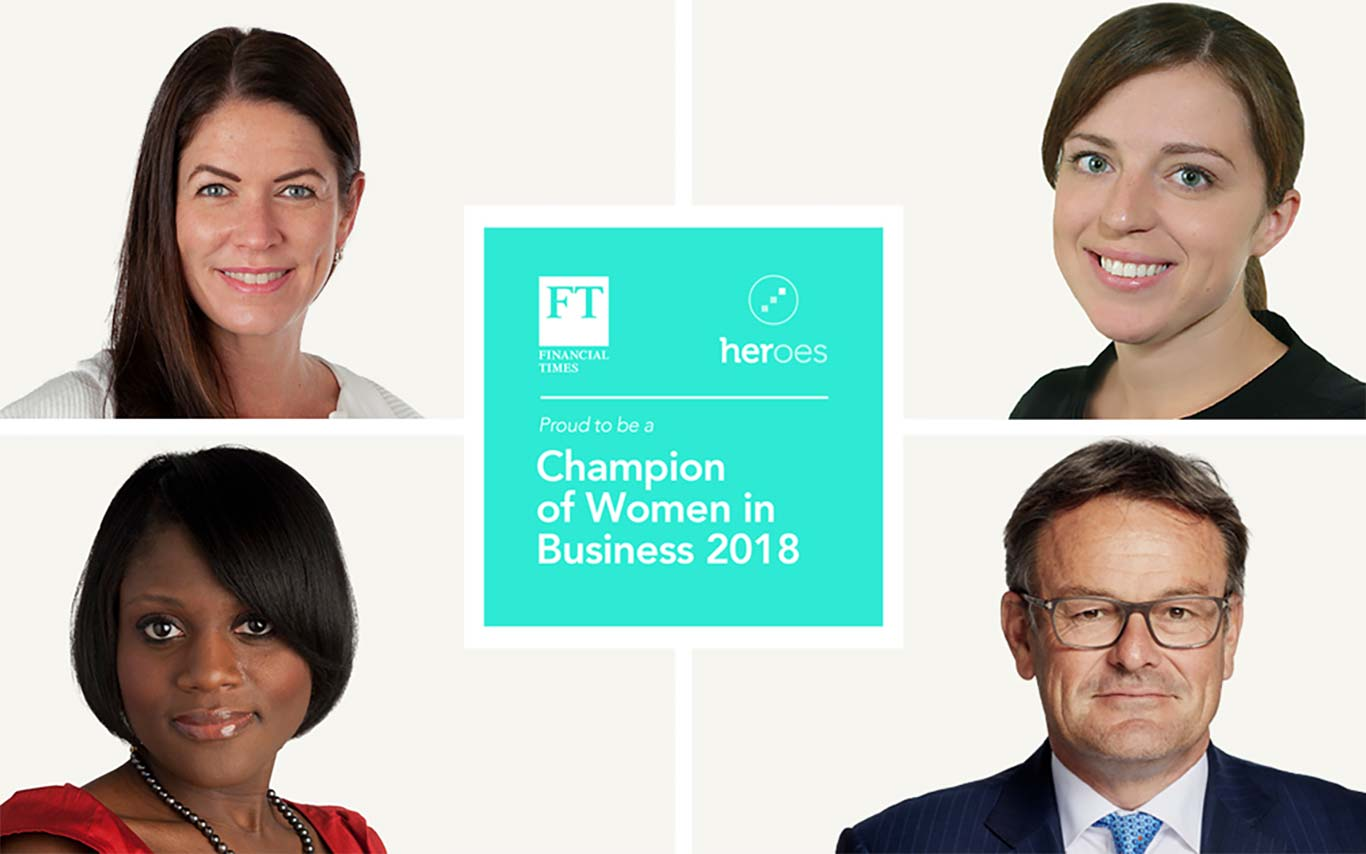FT & HERoes Champions of Women in Business lists