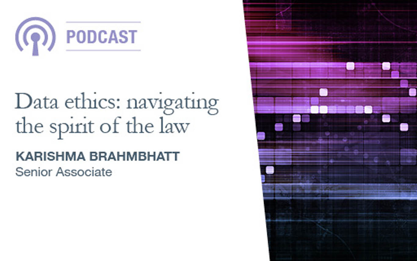 Data ethics: navigating the spirit of the law
