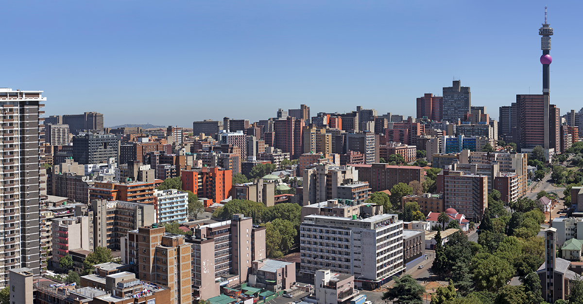 Johannesburg city skyline